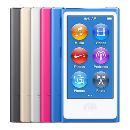 Reparación iPod Nano Generación 7