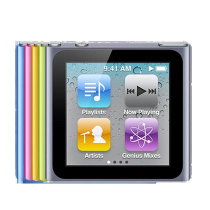 Reparación iPod Nano Generación 6