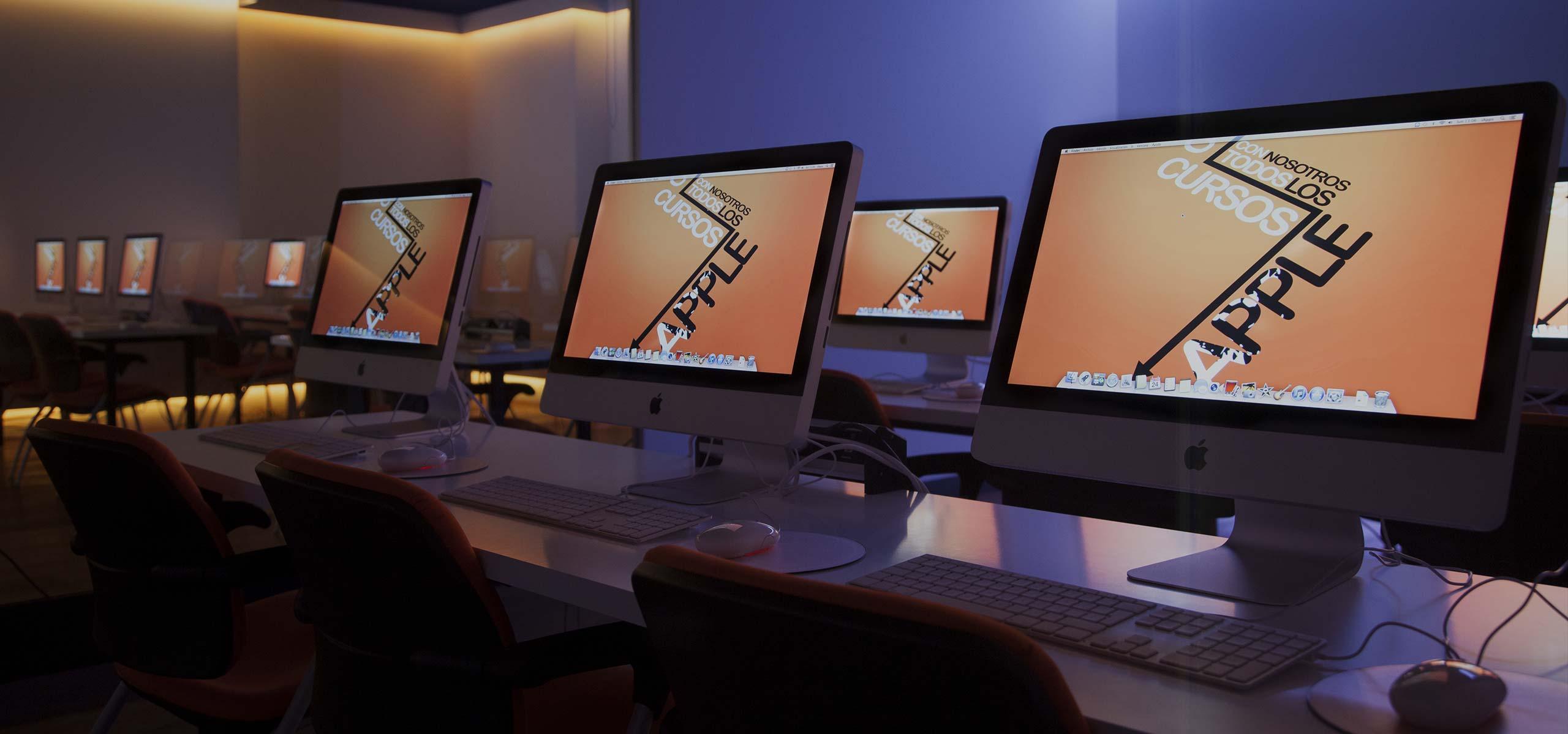 Centro de Formación Impartimos formación y cursos prácticos para que puedas aprender a sacar partido a tu dispositivo Apple