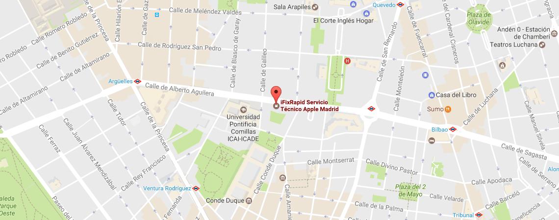 Mapa Madrid - Alberto Aguilera