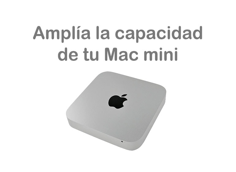 Amplía la memoria RAM de tu Mac mini