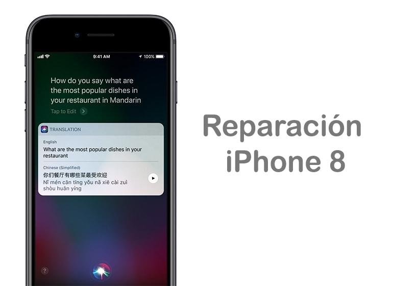Reparar la pantalla de iPhone 8 si se ha roto