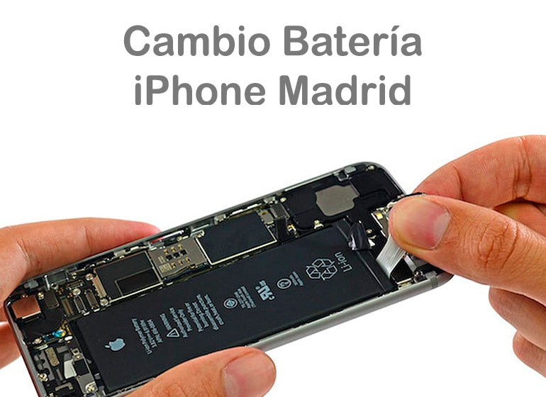 Cambio Batería Iphone Madrid
