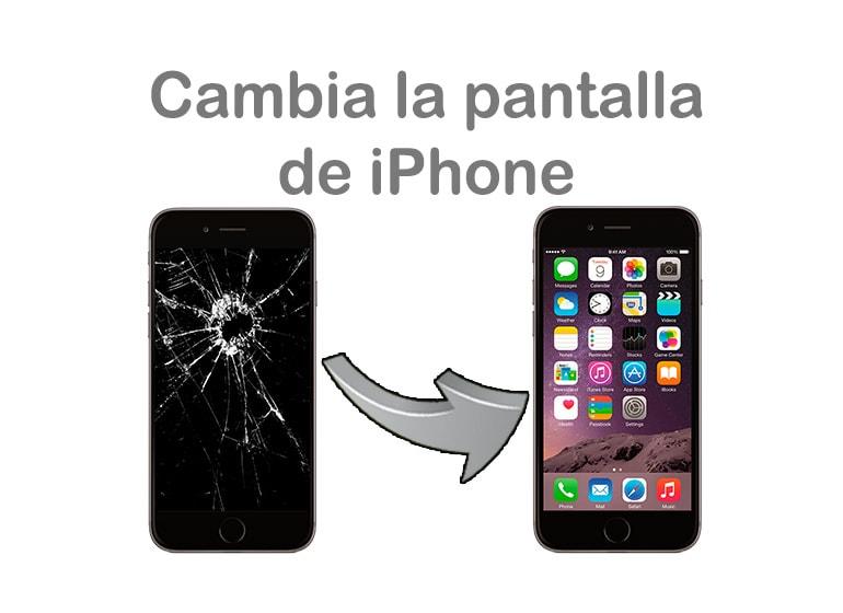 Cambia la pantalla de iPhone en una hora