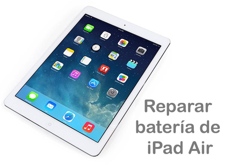 Servicio Técnico Apple para cambiar la batería de iPad si no carga