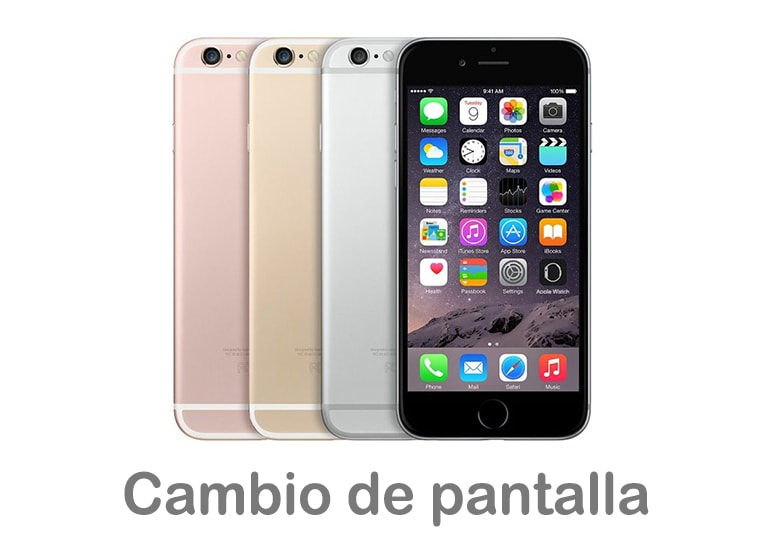 Cambiar pantalla rota de iPhone 6s en Servicio Técnico Apple