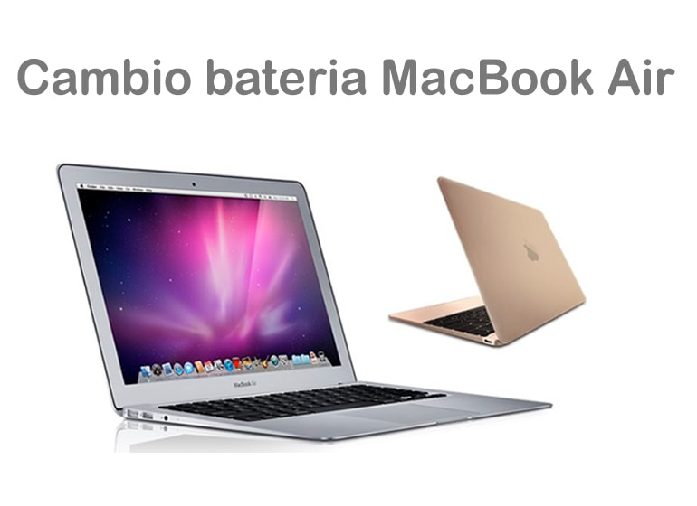 Cambia la batería de MacBook Air