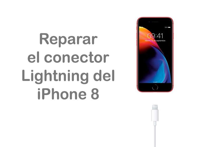 Cómo reparar el conector Lightning del iPhone 8
