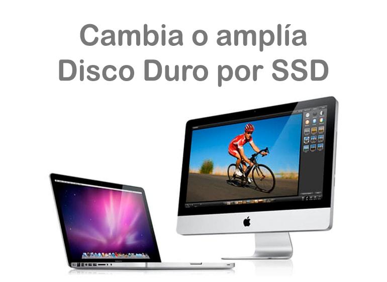 Cambia el disco duro HDD por SSD en tu MacBook o iMac