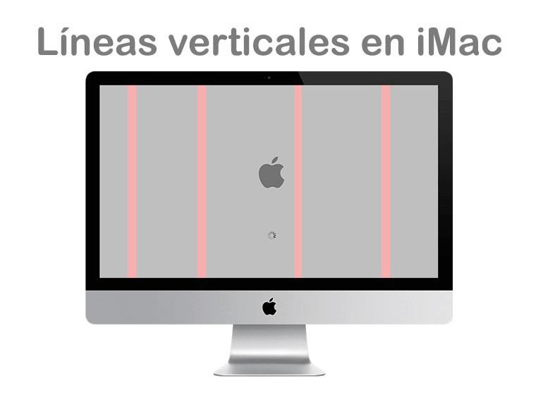 Reparar líneas verticales en iMac con  Servicio Técnico Apple