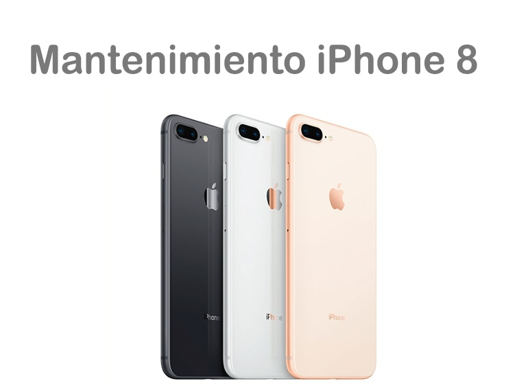 Mantenimiento de iPhone 8