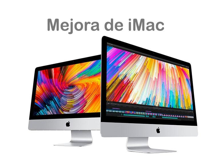 Mejorar el rendimiento y la memoria de iMac