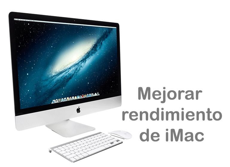 Mejora el rendimiento de tu iMac con Servicio Técnico Apple