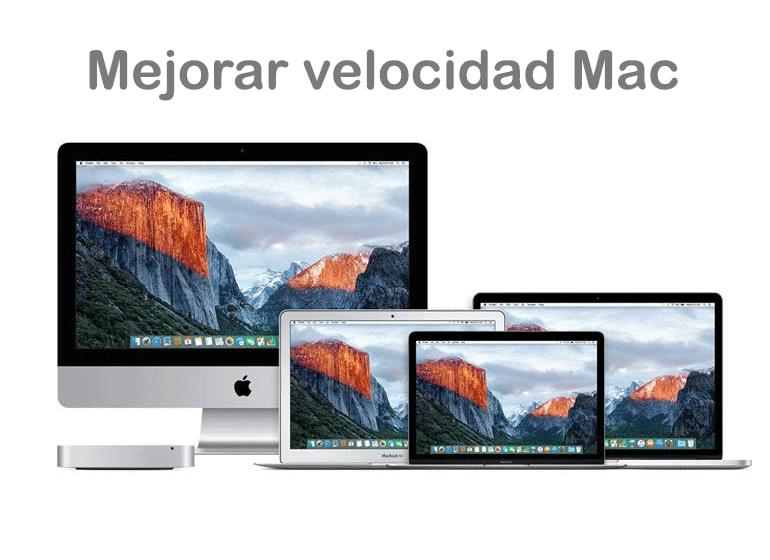 Mejora la velocidad de tu Mac en Servicio Técnico