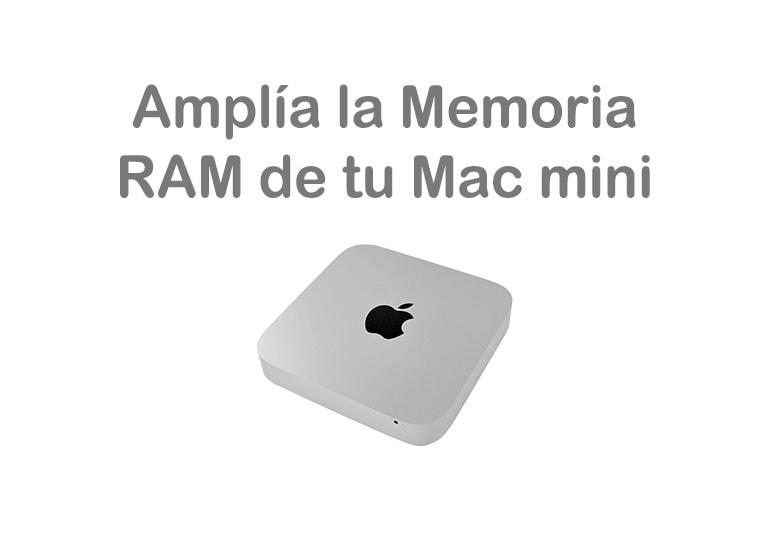 Actualiza tu Mac mini con una ampliación de memoria RAM