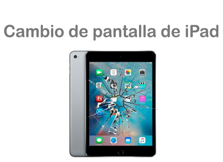 Cambia la pantalla de tu iPad