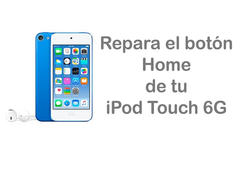 Repara el botón Home de tu iPod Touch 6G