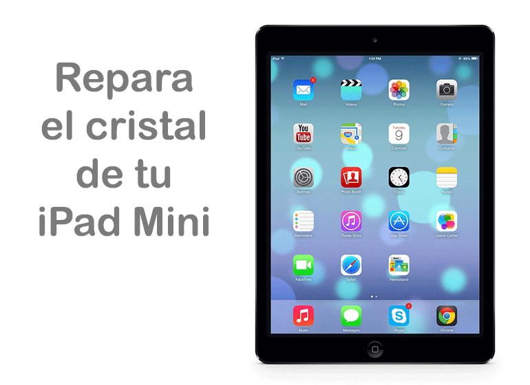 Reparar cristal de iPad Mini en Servicio Técnico Apple