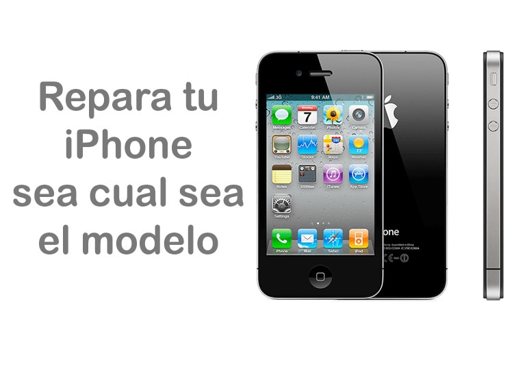 Repara tu iPhone, no importa el modelo