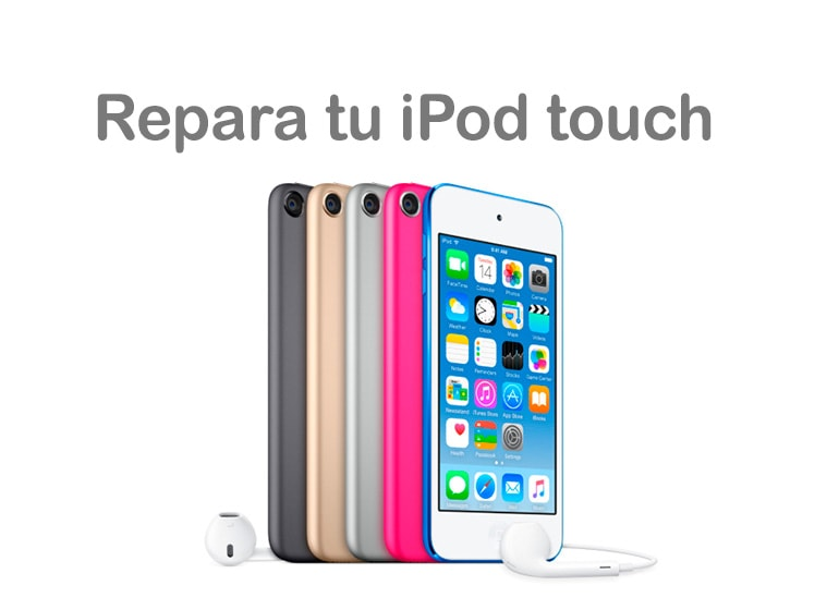 Servicio Técnico Productos Apple para reparar tu iPod touch