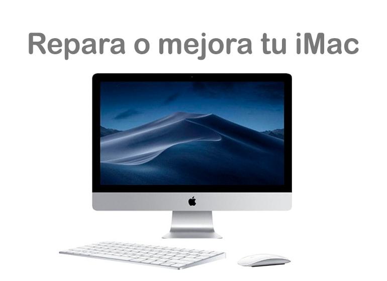 Reparación o mejora de tu iMac