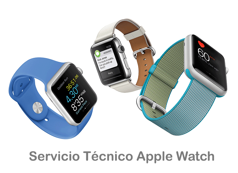Repara tu Apple Watch roto en Servicio Técnico