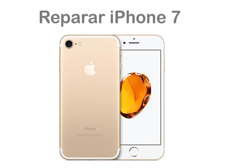 Reparar iPhone 7 con pantalla rota