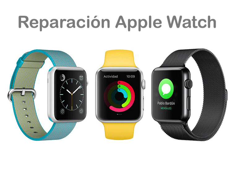 Repara tu Apple Watch si está roto o no funciona correctamente