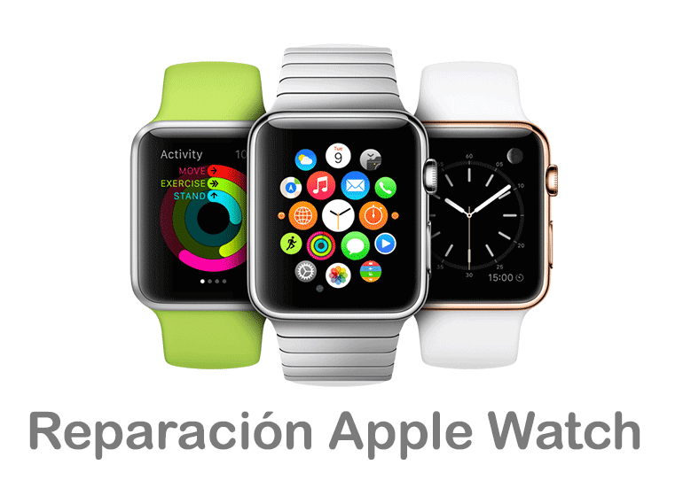 Reparar Apple Watch si el cristal está roto o no funciona
