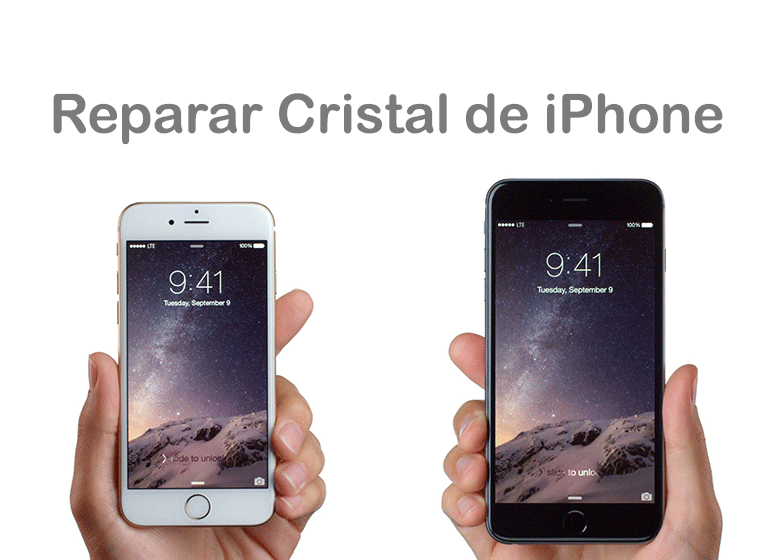 Cambiar el cristal roto de iPhone 6s en Servicio Técnico