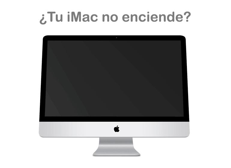 Reparar iMac si no enciende