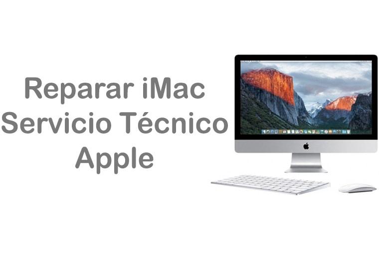 Reparar iMac en Servicio Técnico Apple