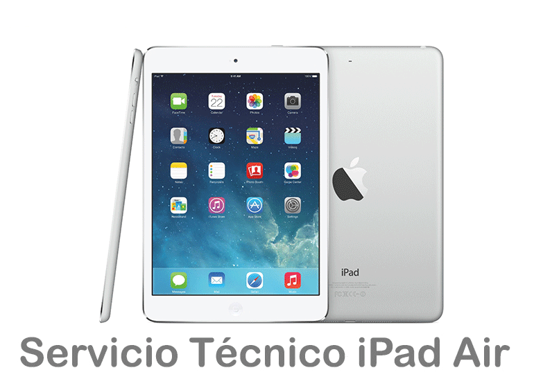 Reparar el cristal de iPad Air si está roto o no se ve bien