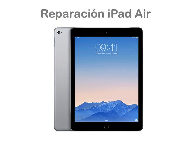 iPad Air tiene la pantalla rota y no funciona