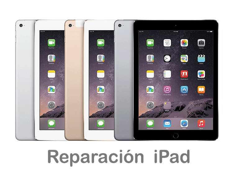 Cambiar pantalla rota de iPad en Servicio Técnico Productos Apple