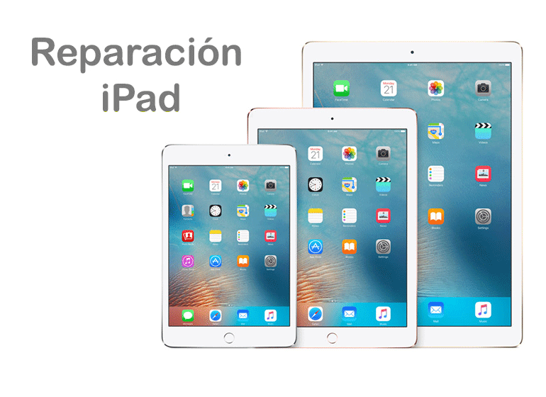 Servicio Técnico Apple para iPad, iPad Air, iPad Mini y iPad Pro
