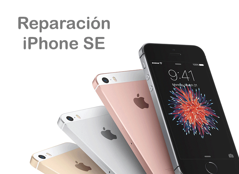 Reparar iPhone SE en Servicio Técnico Apple