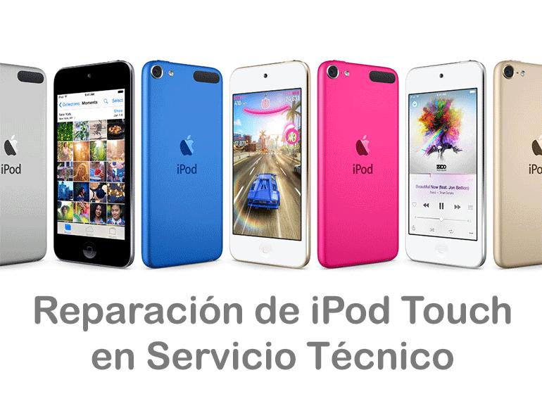 Servicio Técnico Apple repara tu iPod Touch si está roto o no funciona