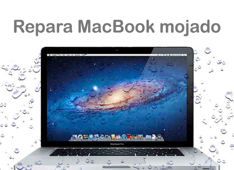 Reparación MacBook mojado