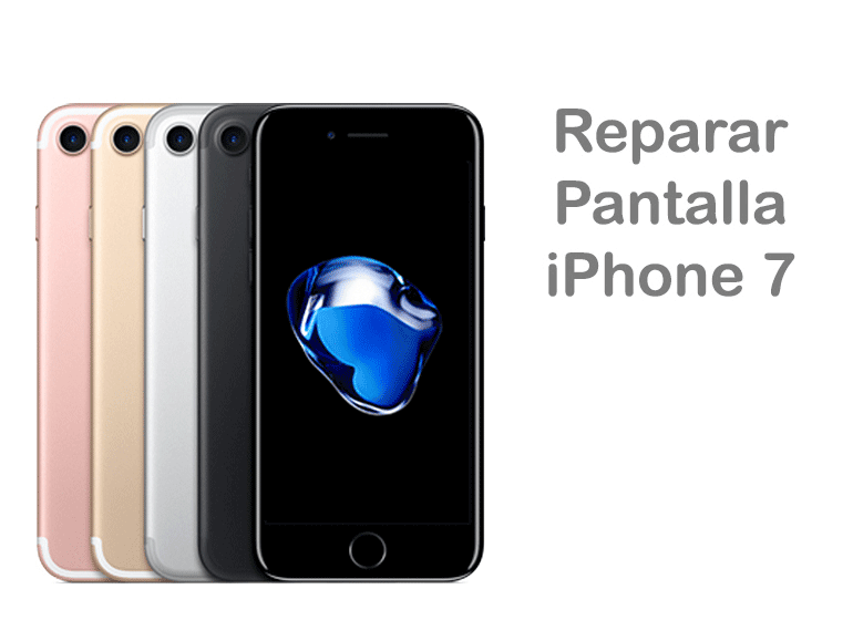Reparación Apple de pantalla rota de iPhone 7