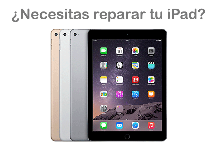 Servicio Técnico para iPad, iPad Air y iPad Mini