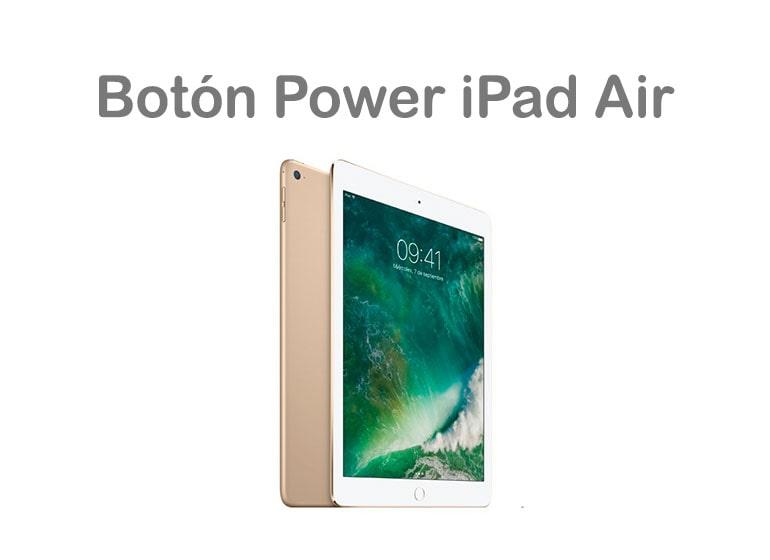 Solución el botón de encendido de iPad Air no funciona