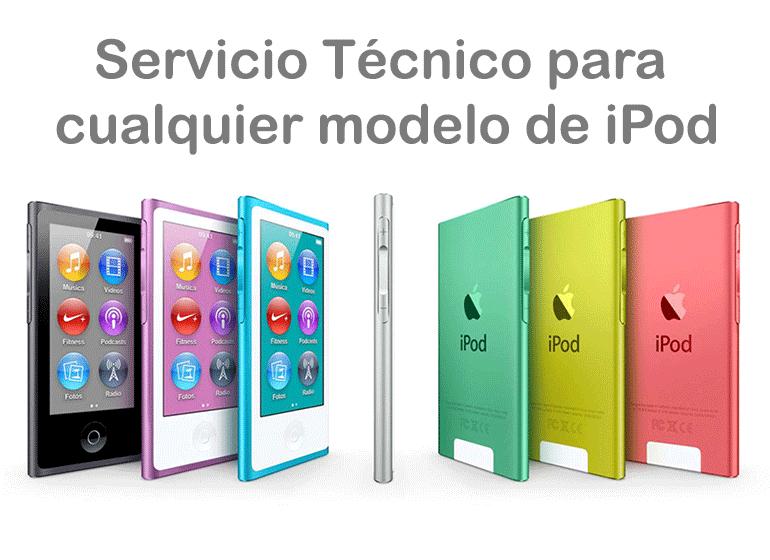 Repara tu iPod Touch y iPod Nano en Servicio Técnico