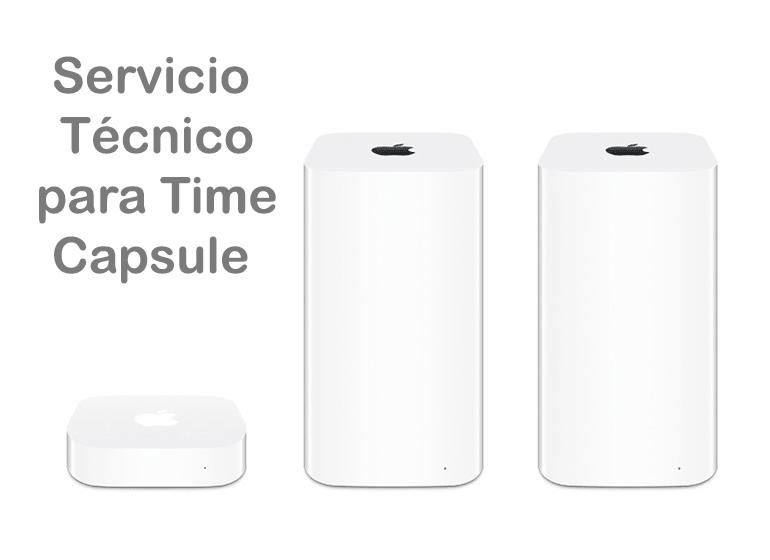 Si tu Time Capsule no funciona, somos tu Servicio Técnico Apple