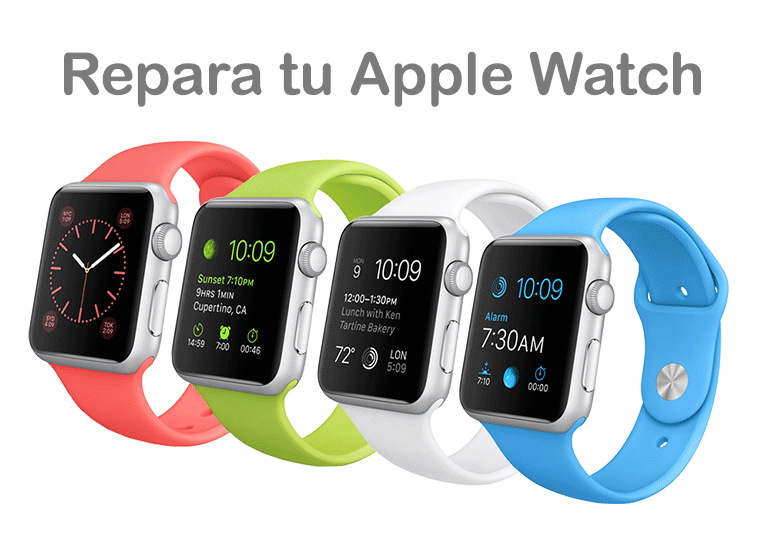 Servicio Técnico Apple para Apple Watch