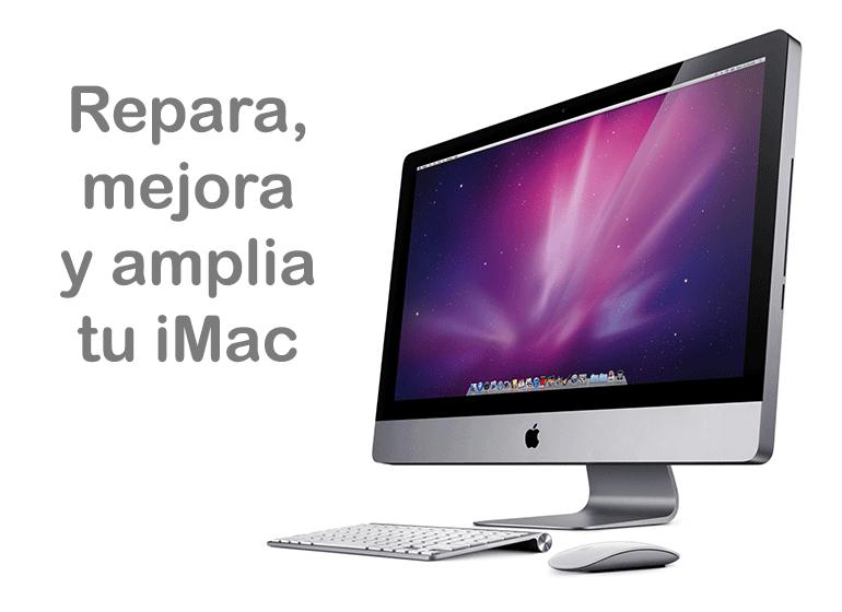 Repara, mejora y amplía tu iMac con Servicio Técnico Apple