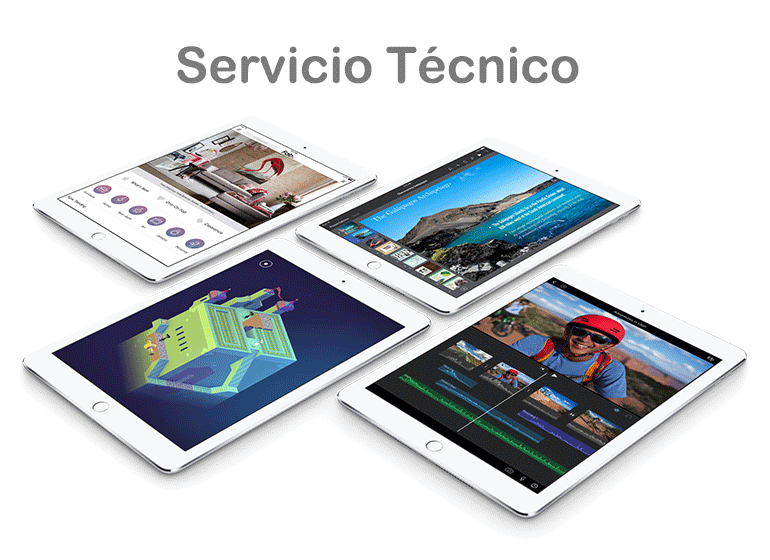 Servicio Técnico Apple para iPad roto
