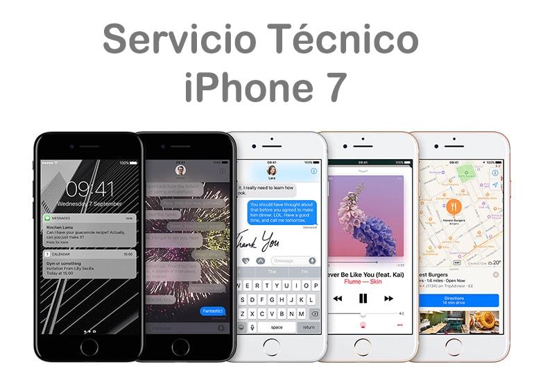 Cambiar pantalla rota de iPhone 7 en Servicio Técnico Productos Apple